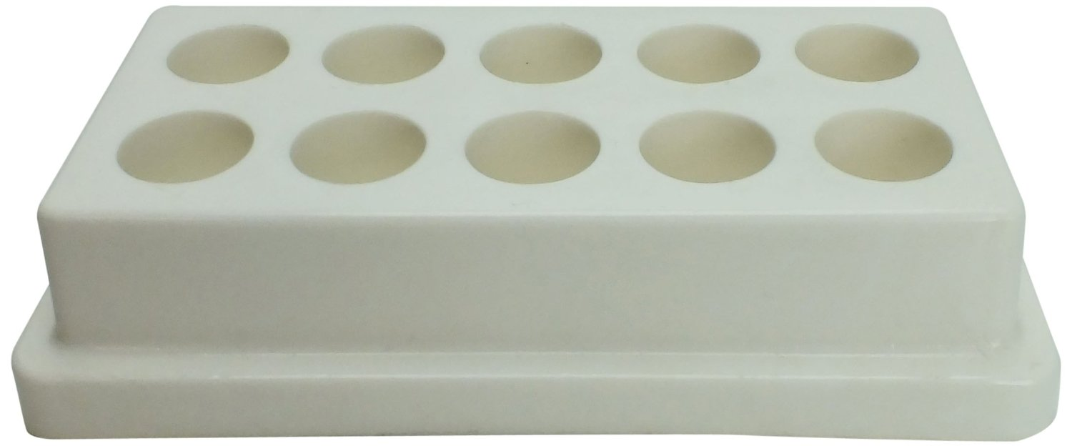 "Full-View Series 198 White Caddy Rack, 6"" x 3"" x 1.372"""