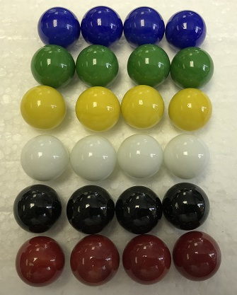 Replacement Marbles for use w/ Aggravsion Game 14mm marbles